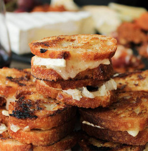 Brie and Bacon Bites