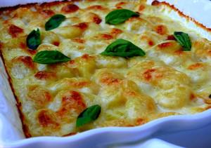 Baked Gnocchi Mac n Cheese