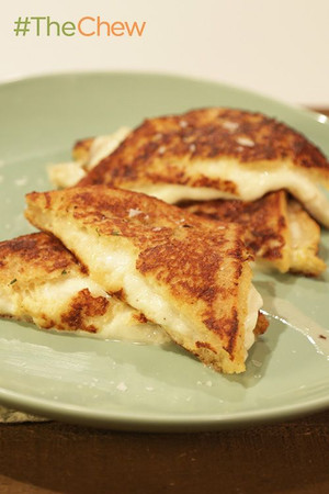 Fried Mozzarella in Carrozza Grilled Cheese Sandwiches