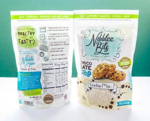 Nibblee Bits - Paleo, Gluten-Free, Grain-Free, Non-GMO, Vegan Chocolate Chip Cookie Mix