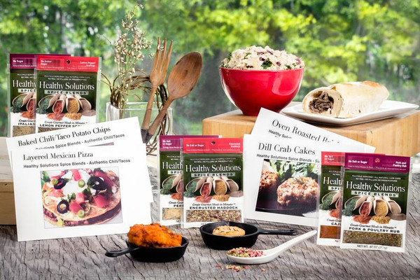 Healthy Solutions Spice Blends