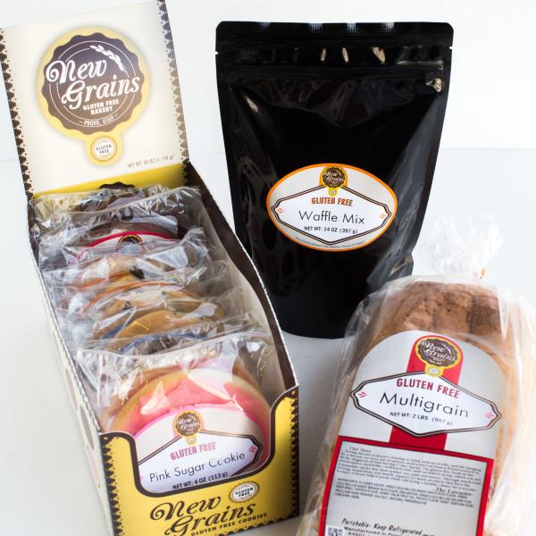 New Grains Gluten Free Sampler
