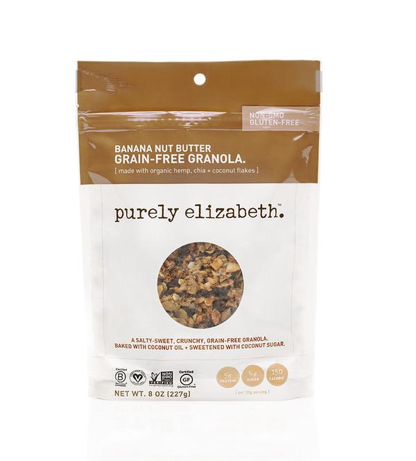 BANANA NUT BUTTER GRAIN-FREE GRANOLA