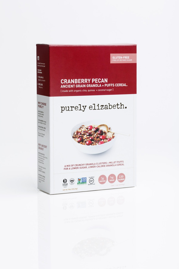 CRANBERRY PECAN ANCIENT GRAIN GRANOLA + PUFFS CEREAL
