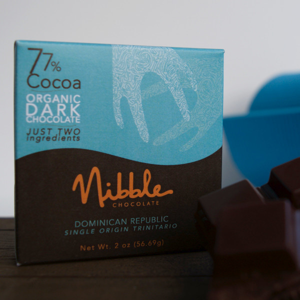 Four Bar Flight 77% Organic Dark Chocolate