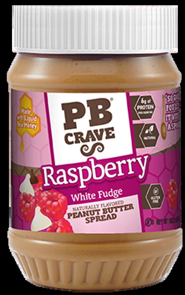 Raspberry White Fudge Peanut Butter
