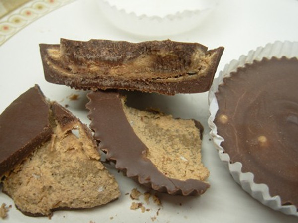 MILK CHOCOLATE PEANUT BUTTER CUPS - 12 pack