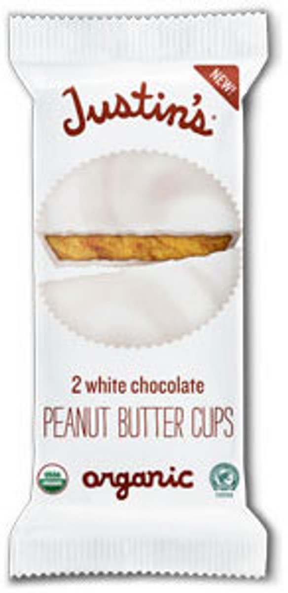 WHITE CHOCOLATE PEANUT BUTTER CUPS -  12 Pack