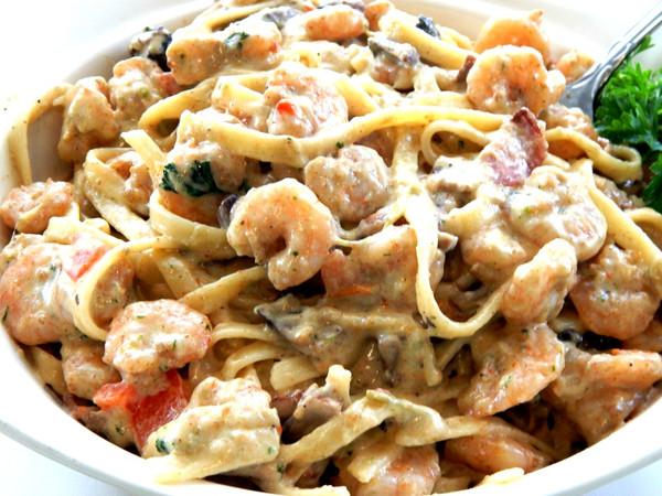 Cajun Creamy Shrimp Pasta