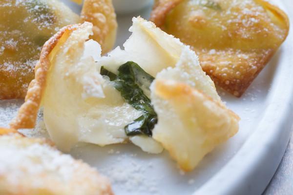 Fresh Mozzarella and Basil Bites