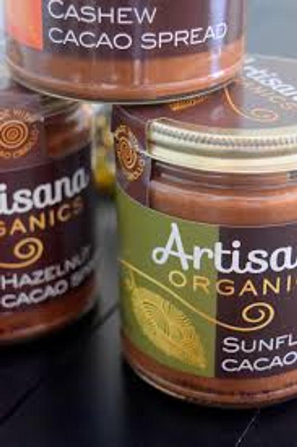 Hazelnut Cacao Spread (8oz) Cacao & Hazelnut Butter Decadence