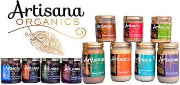 Almond Butter (14oz)  Raw 100% Organic Pure Ground California Almonds