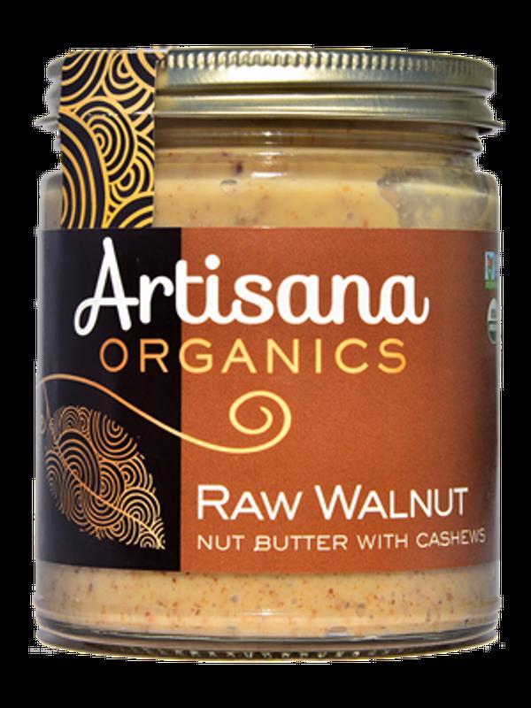 Walnut Butter (8oz)  Raw 100% Organic Walnut Butter