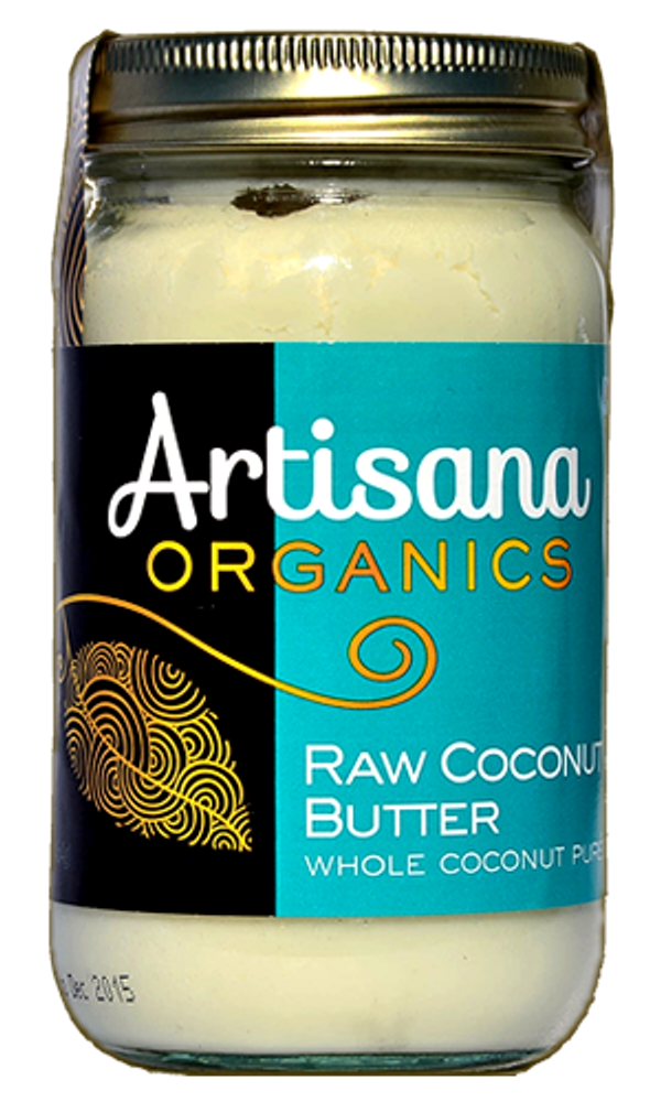 Coconut Butter (14oz)  Raw 100% Organic Pure Ground Coconut Flesh