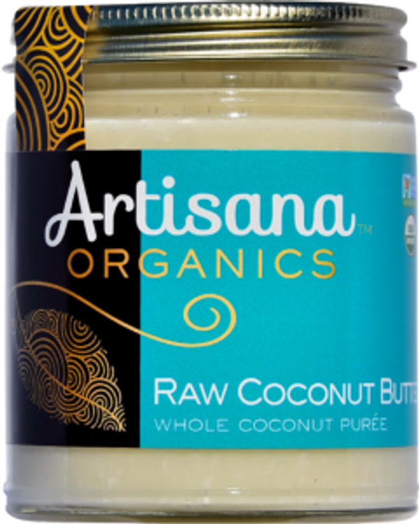 Coconut Butter (8oz)  Raw 100% Organic Pure Ground Coconut Flesh
