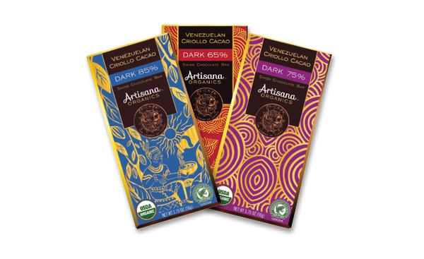 Swiss Chocolate Bar – Dark 75%  Venezuelan Criollo Cacao