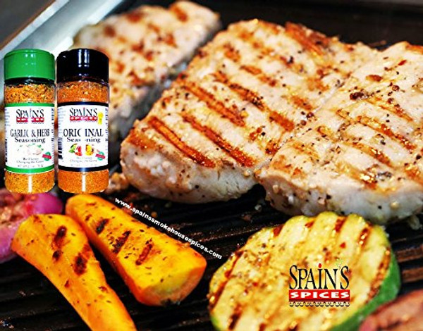 #1 Best-selling Spain's Gourmet Original Seasoning 5.1 oz - Gluten Free, Sugar Free, No MSG, No GMO