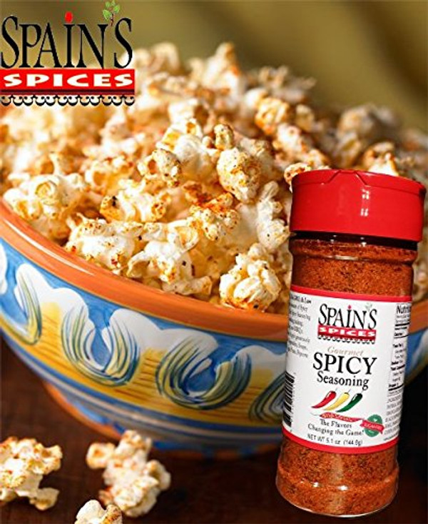 Spain's Spices Variety Set Original, Spicy and Garlic Seasoning 5.6 oz - (Pack of 3)
