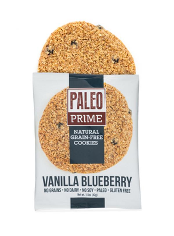 Vanilla Blueberry Paleo Cookies 12 pack