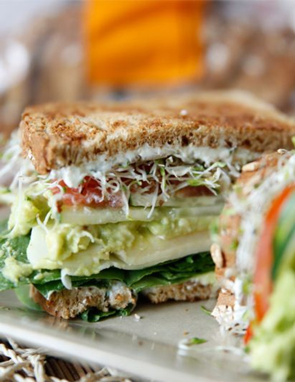 Loaded Veggie Sandwich