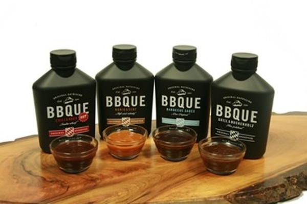 BBQUE Variety Pack - Original BBQ, Honey Mustard, Chili & Horseradish, Grill & Beechwood Flavors