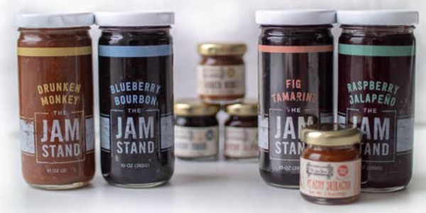 Blueberry Bourbon Jam - The Jam Stand