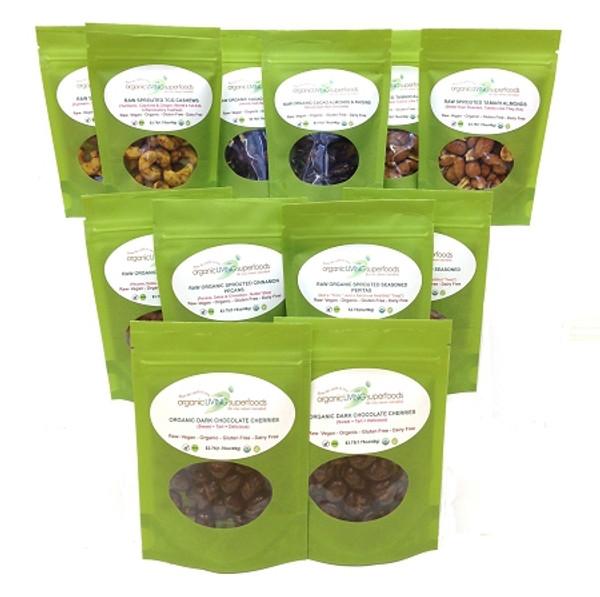 Superfood SNACK Pack Sampler (12 Pack)