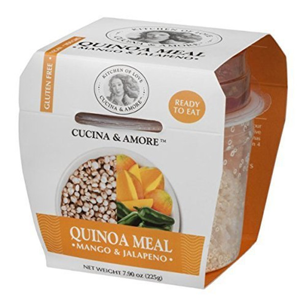 6 Pack : Cucina & Amore Quinoa Rte Meal, Mango And Jalapeno, 7.9 Ounce