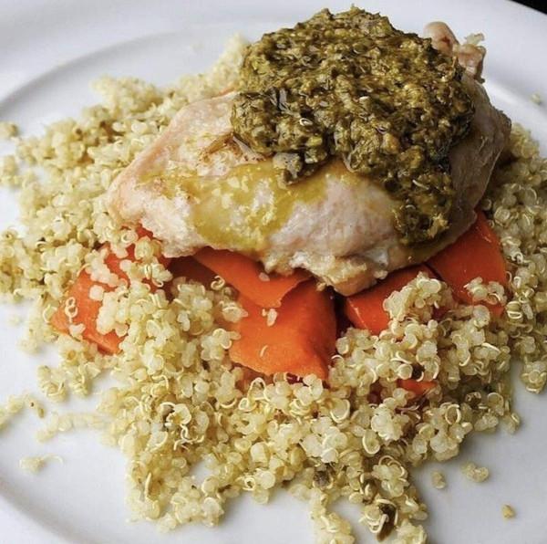 6 Pack : Cucina & Amore Quinoa Meal, Basil Pesto, 7.9-ounce