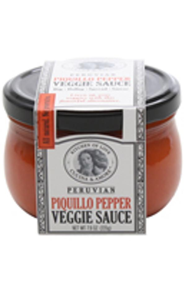 Cucina & Amore  Piquillo Pepper Veggie Sauce, 7.9 Oz. Case Of 6