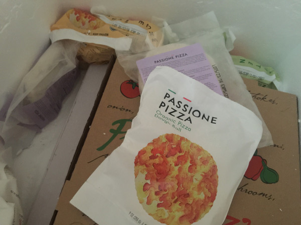 Passione Pizza Organic Pizza Dough Ball