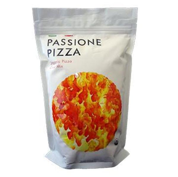 Passione Pizza Organic Pizza Dough Crust Mix