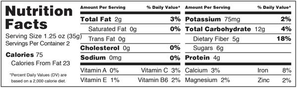 TIGERNUT CLUSTERS - CHOCOLATE