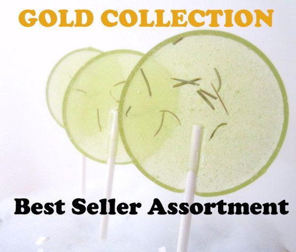 Gourmet Lollipops Assortment - Choose Your Flavor ! Includes 7