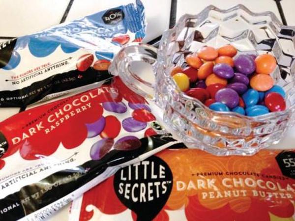 Little Secrets 5 oz Candies, 4 Pack (Sea Salted Peanut Dark Chocolate)