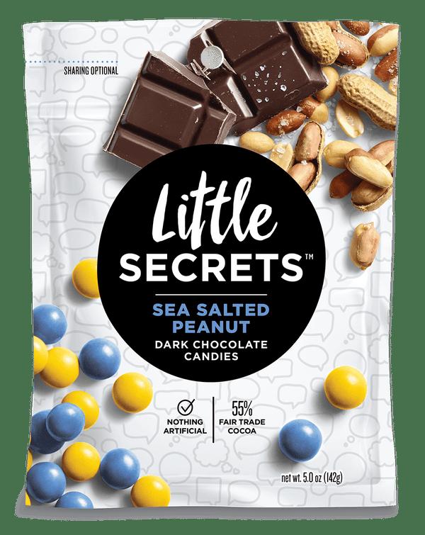 Little Secrets 5 oz Candies, 4 Pack (Peppermint Dark Chocolate)