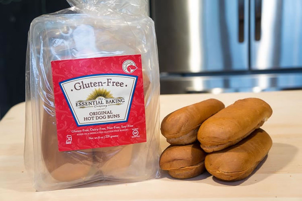 Gluten-Free Hot Dog Buns - Case of 6