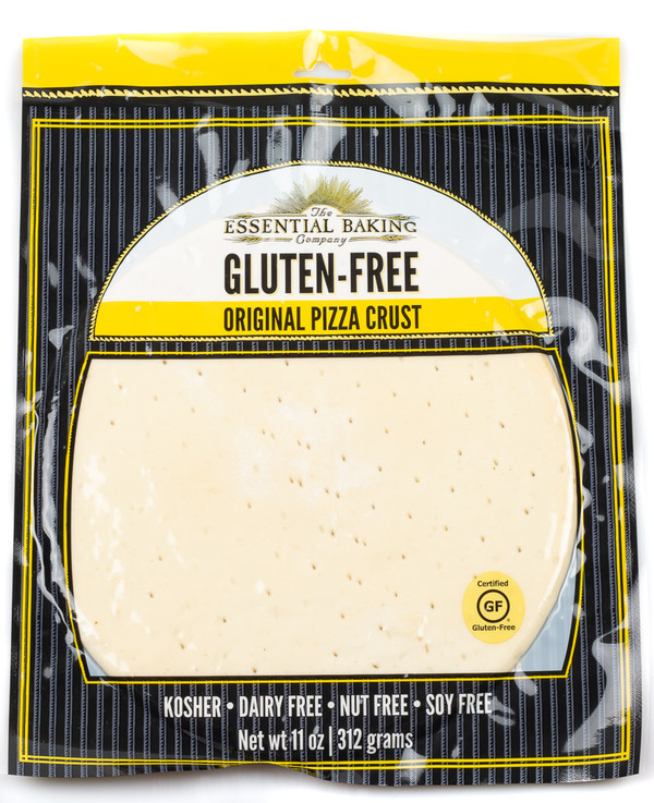 Gluten-Free 10″ Pizza Crust - Case of 12 - Essential Baking