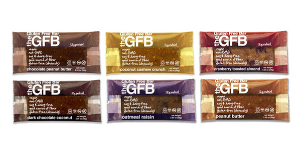 The Gluten Free Bar Case - Select 12 flavors