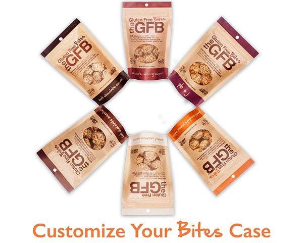CUSTOM CASE - BITES (CASE OF 12) - The Gluten Free Bar