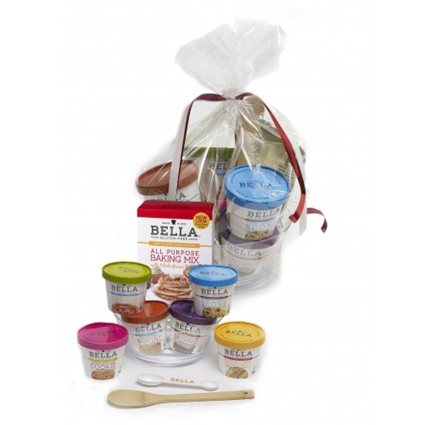 Bella Gluten-Free Bowl and Spoon Gift Box / Basket