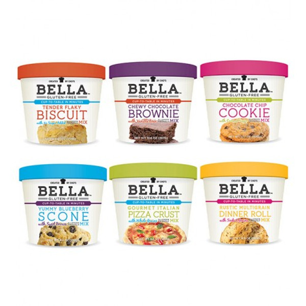 Bella Gluten Free Chewy Chocolate Brownie Mix ~ Case of 6