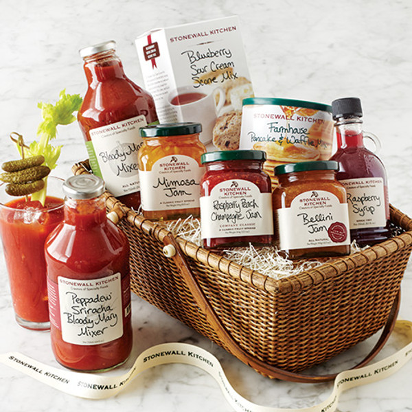 Brunch Gift Basket - Stonewall Kitchen
