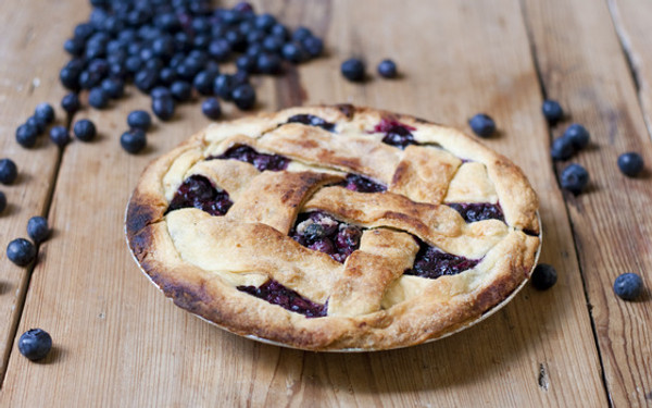 Refreshing Blueberry Pie - 9""