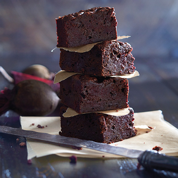Chocolate Beet Brownies - 1/2 dozen