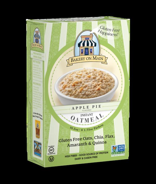 Apple Pie Flavor Instant Oatmeal