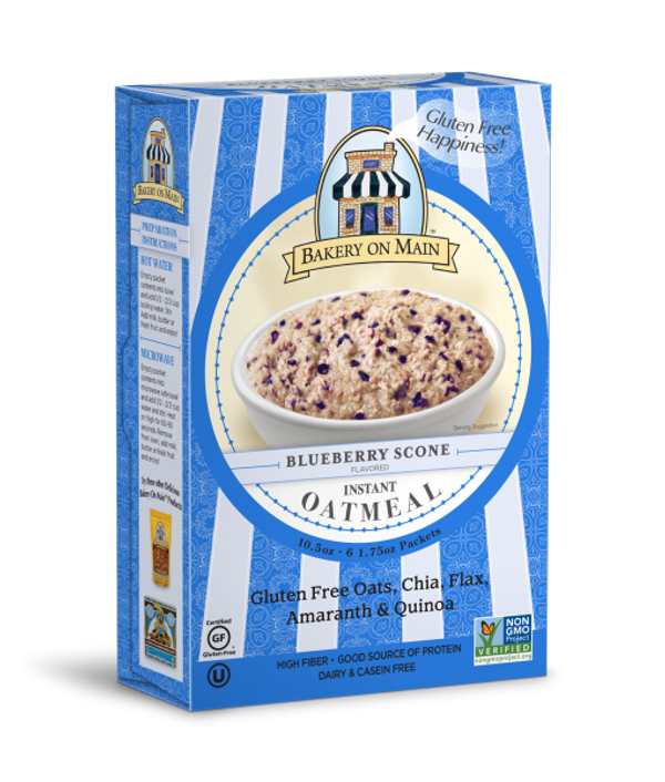 Blueberry Scone Instant Oatmeal