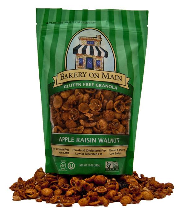 Apple Raisin Walnut Granola