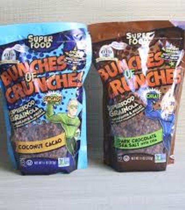 Bunches of Crunches Dark Chocolate Sea Salt