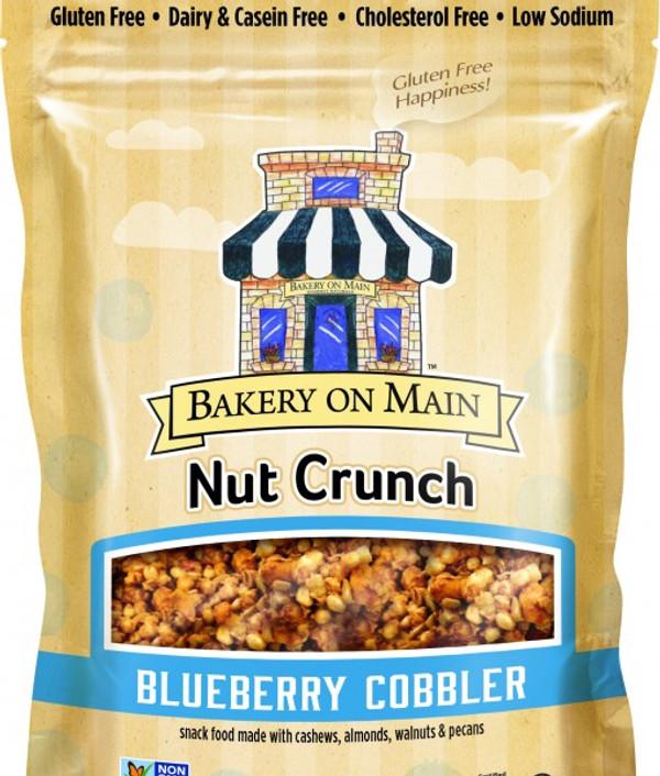 Blueberry Cobbler Nut Crunch Snack